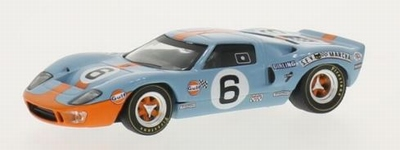 Whitebox 1:43 Ford GT40 No6 John Wyer Gulf J.Ickx/J.Oliver