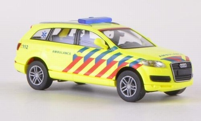 Wiking 1:87 Audi Q7 Ambulance Nederland