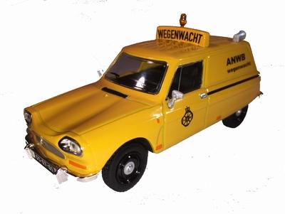 WSI Tema Toys 1:43 Citroen AMI Wegenwacht geel