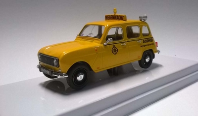WSI Tema Toys 1:43 Renault 4 1973 ANWB Wegenwacht geel