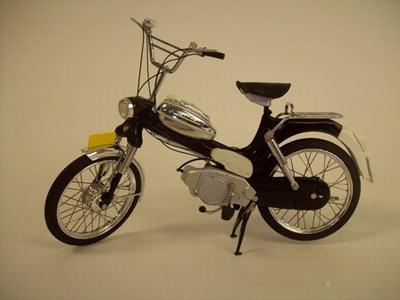 Brommer WSI 1:10 Puch MV50 Zwart Laag stuur