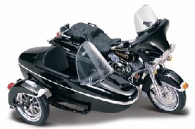 Maisto 1:18 Harley Davidson FLHT Electra Glide met zijspan