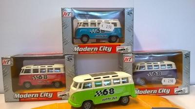 Vanmanen HT Modern City +/- 1:60 Volkswagen T1 9cm assorti