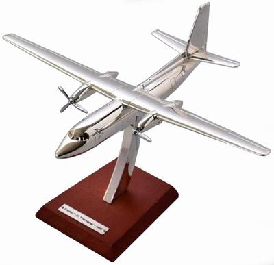 Atlas 1:200 Fokker F.III 1920 chroom, vliegtuig