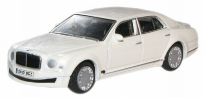 Oxford 1:76 Bentley Mulsanne wit
