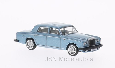 Oxford 1:76 Bentley T2 Saloon metallic lichtblauw