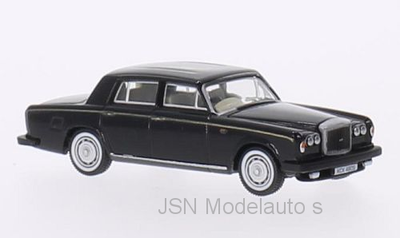 Oxford 1:76 Bentley T2 zwart goud RHD