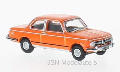 Oxford 1:76 BMW 2002 oranje RHD