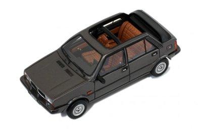 Premium X 1:43 Lancia Delta Selene Semi cabrio 1983 grijs