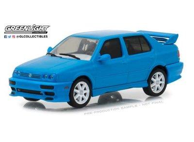Greenlight 1:43 Volkswagen Jetta A3, blauw 1995