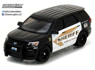 Greenlight 1:64 Ford Police Interceptor Utility Franklin Cou
