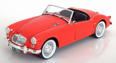 Greenlight 1:18 MG A MK1 A 1600 Roadster Elvis Presley Blue