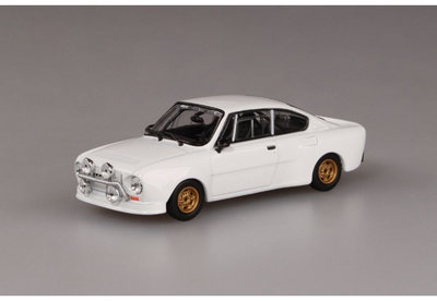 Abrex 1:43 Skoda 130RS wit 1977