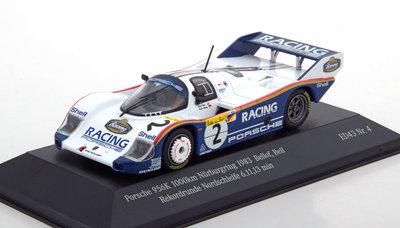 CMR 1:43 Porsche 956K No 2 Bellof / Bell RekordRunde 1000 km Nurburgring 1983