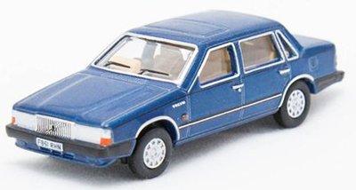 Oxford 1:76 Volvo 760 blauw