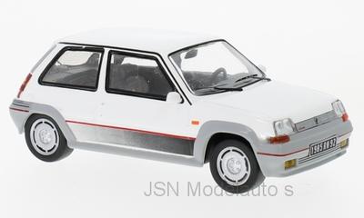 IXO 1:43 Renault 5 GT Turbo wit