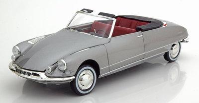 Norev 1:18 Citroen DS 19 Chapron Cabriolet 1961 grijs metallic