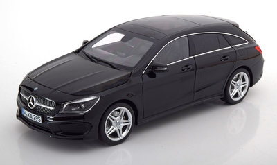 Norev 1:18 Mercedes Benz CLA Shooting Brake 2015 zwart