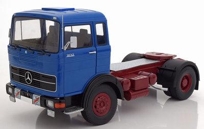 Road Kings 1:18 Mercedes LPS 1632 blauw (pre-order)