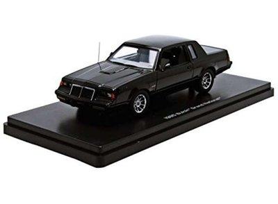 Auto World 1:43 Buick Grand National 1986 zwart