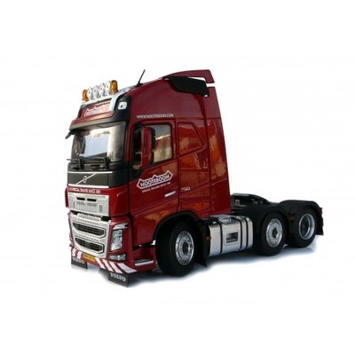 Marge Models 1:32 Volvo F16 6x2 Nooteboom Edition rood