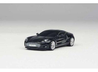 Frontiart 1:87  Aston Martin One 77 zwart 2016, Avan Style
