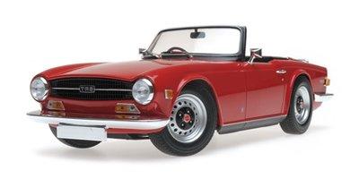 Minichamps 1:18 Triumph TR6 rood