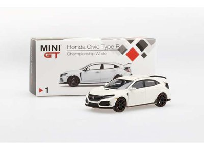 TSM Model 1:64 Honda Civic Type R (FK8) Championship wit 2017