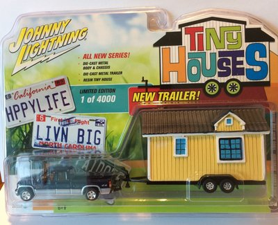 Johnny Lightning 1:64 Chevrolet Silverado 1500 met Tiny House 2002