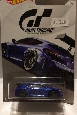 Hot Wheels 1:64 Renault Megane Trophy Gran Turismo blauw