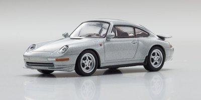 Kyosho 1:64 Porsche 911 RS 993 zilver