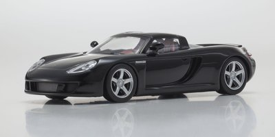 Kyosho 1:64 Porsche Carrera GT zwart