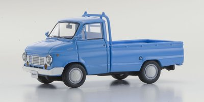 Kyosho 1:43 Nissan / Datsun Cablight Truck blauw Old-Timer