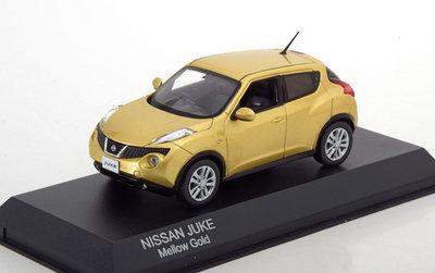 Kyosho 1:43 Nissan Juke Mellow Gold