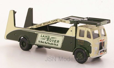 Oxford 1:76 Leyland Land Rover Autotransporter