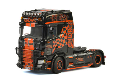 WSI 1:50 Endres Scania Highline CS20H 4x2