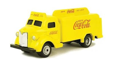 Motor City 1:87 Coca Cola Bottle Truck geel 1947