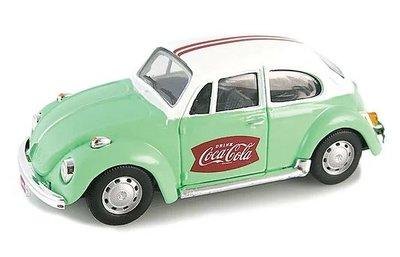 Motor City 1:43 Volkswagen Beetle 1967 groen