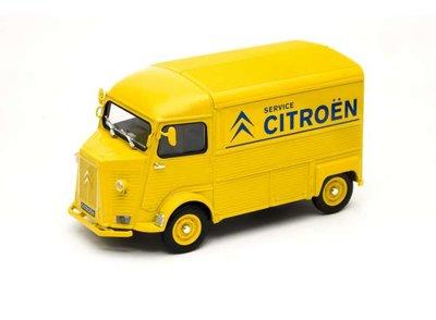 Welly 1:24 Citroen HY Citroen Service geel blauw