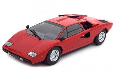 Kyosho 1:18 Lamborghini Countach LP400 rood OUSIA