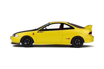 Otto Mobile 1:18 Honda Integra (DC2) Spoon Sunlight Yellow Scale: 1/18 Resin