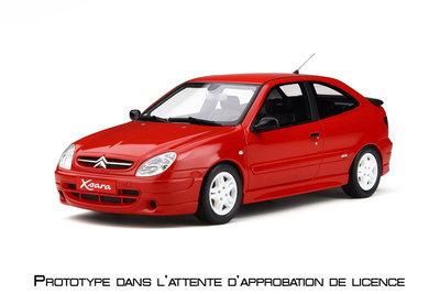 Otto Mobile 1:18 Citroën Xsara Sport Ph.1 Rouge Vallelunga