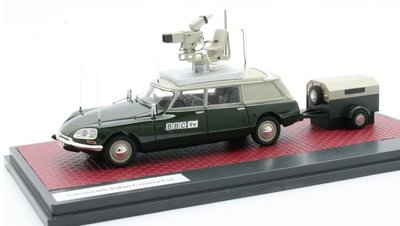 Matrix 1:43 Citroen ID Safari BBC TV Camera Car groen 1973