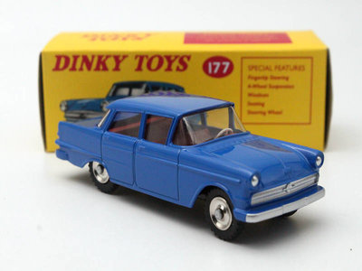 Dinky Toys 1:43 Opel Kapitain Edition Atlas blauw