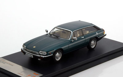 Premium X 1:43 Jaguar XJS Lynx Eventer metallic groen RHD