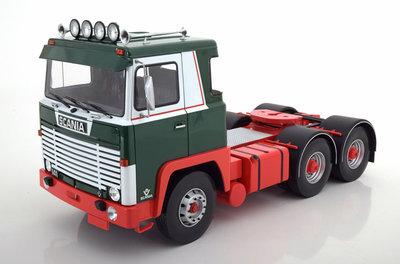 Road Kings 1:18 Scania LBT 141 groen
