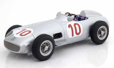 iScale 1:18 Mercedes Benz W196 #10 Juan Manuel Fangio Winner Belgium GP Weltmeister 1955