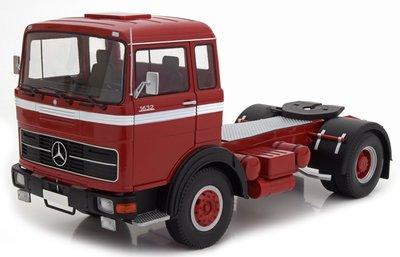 Road Kings 1:18 Mercedes LPS 1632 rood 1969