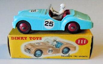 Dinky Toys 1:43 Triumph TR2 Sports no25 Edition Atlas