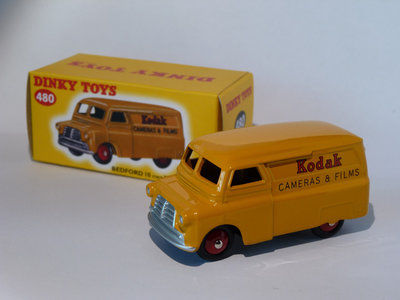 Atlas 1:43 Dinky Toys Bedford 10 cwt Van Kodak #480
